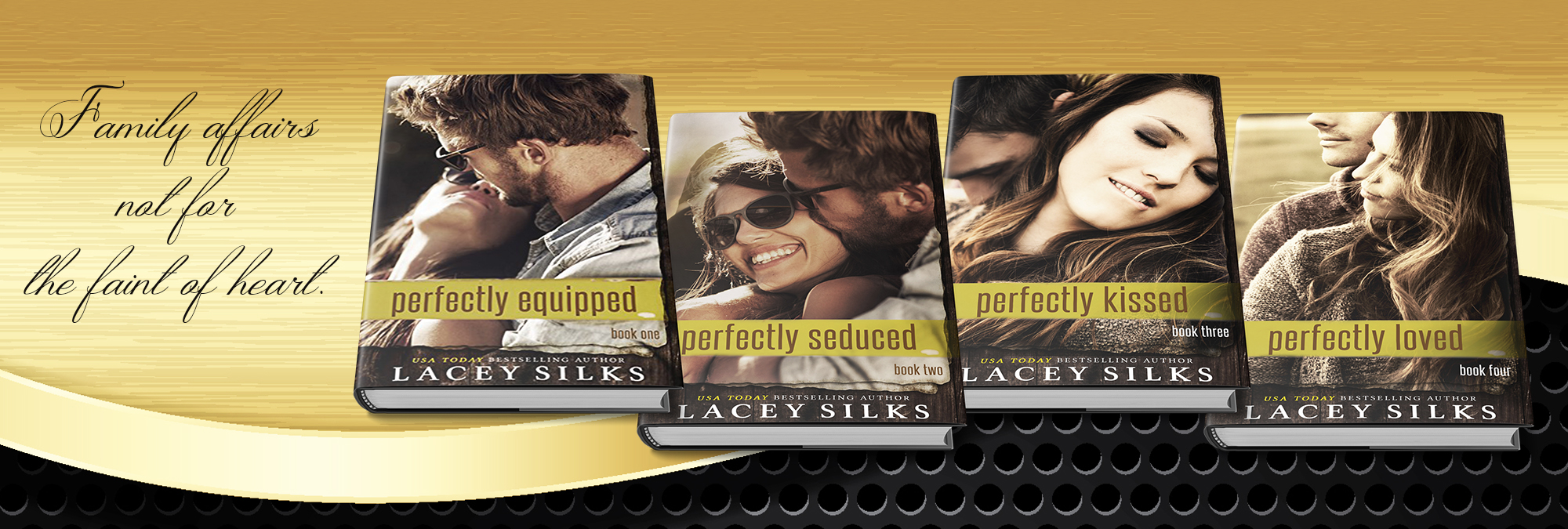 Romantic Suspense Perfectly Series